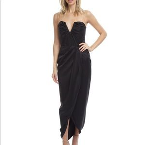Yumi Kim Bombshell Silk Maxi Dress
